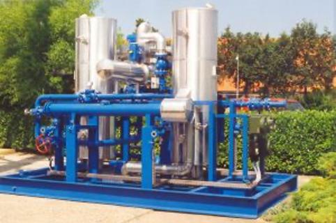 Externally Heated Adsorption Dryer