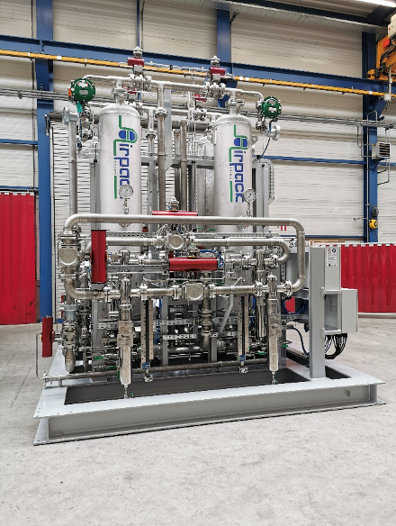 Heatless Adsorption Dryer (with actuated valves)
