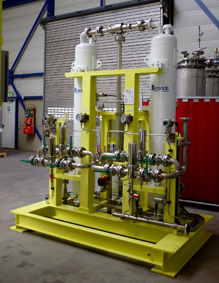 Heatless Adsorption Dryer (with Airpack changeover valve)